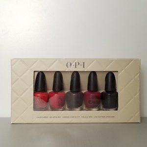 OPI: Perfect 5 Reds Mini Set